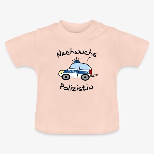 nachwuchs polizistin - Baby T-Shirt