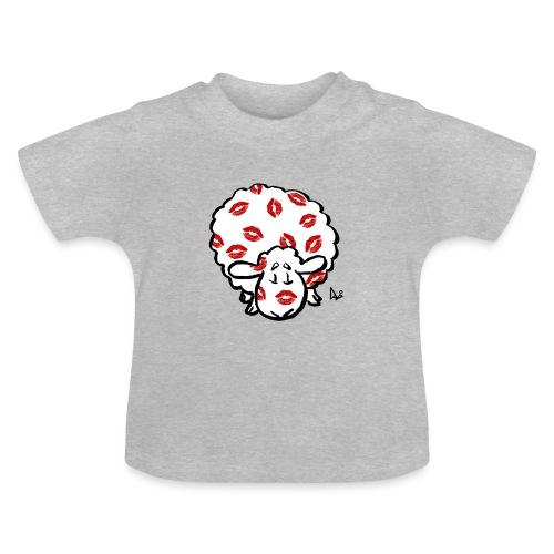 Kuss Mutterschaf - Baby T-Shirt