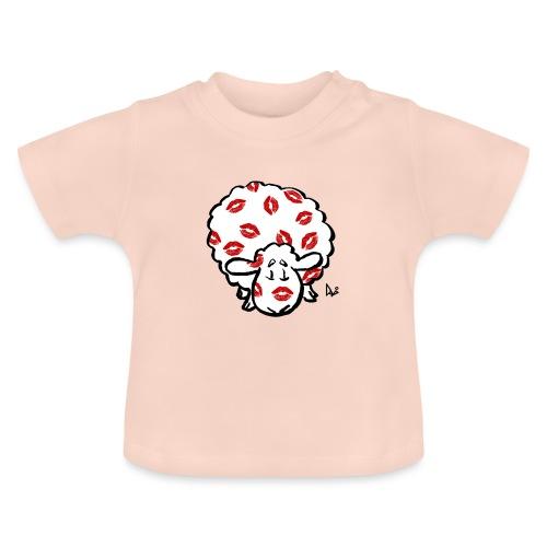Beso oveja - Camiseta bebé