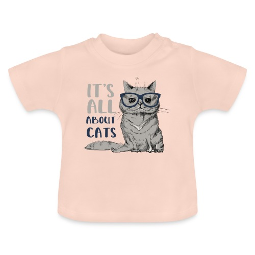Coole Katze: It's All About Cats - Baby T-Shirt