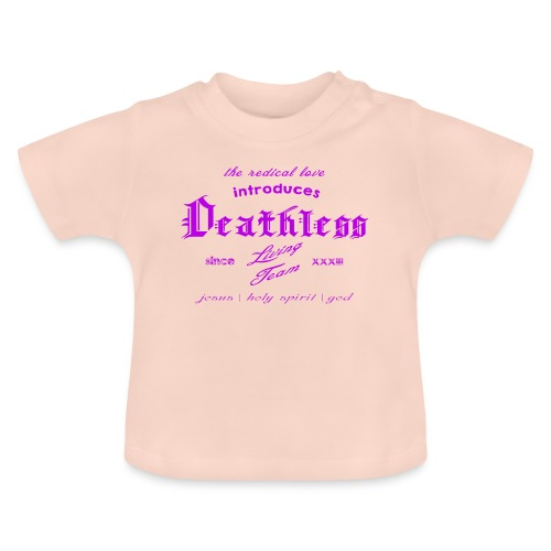 deathless living team violet - Baby T-Shirt