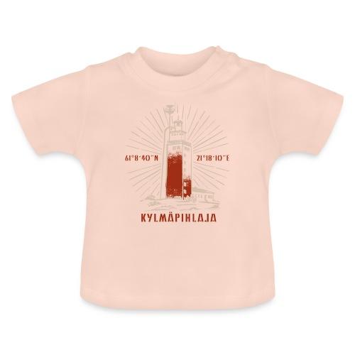 KYLMÄPIHJALAN MAJAKKA tekstiilit ja lahjatuotteet. - Vauvan t-paita
