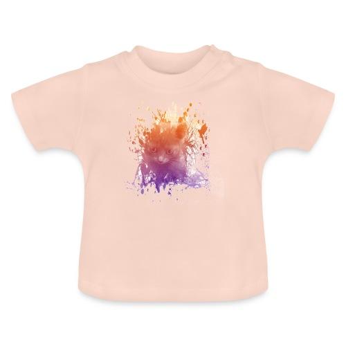 Chaton transparent - T-shirt Bébé