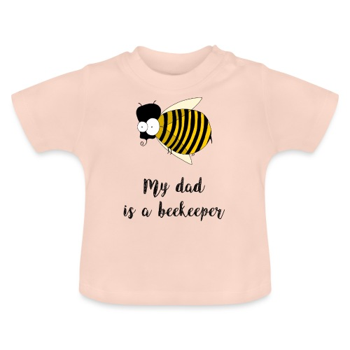 Mio padre è un apicoltore - Maglietta per neonato