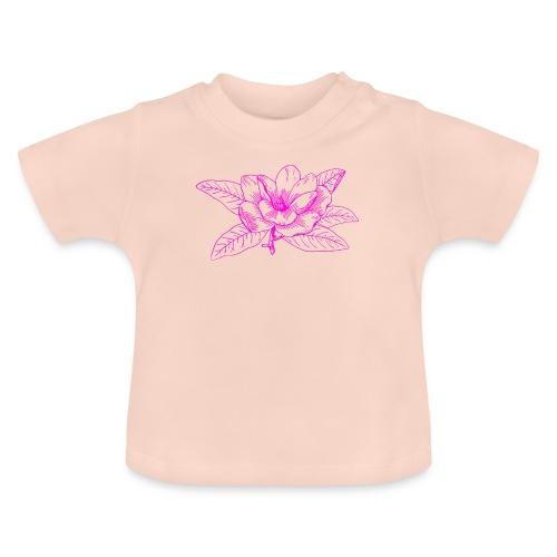 Camisetas y accesorios de flor color rosada - Camiseta bebé