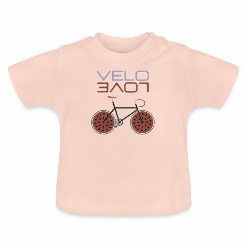 Melonen Bike Shirt Velo Love Shirt Rennrad Shirt - Baby T-Shirt