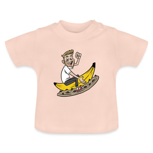 Matinbum På Banankaka - Baby-T-shirt