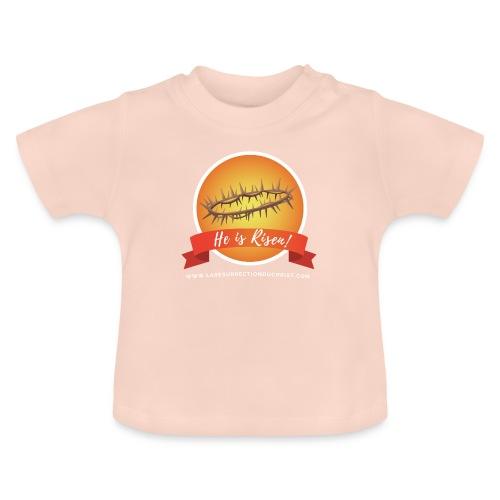 He is Risen ! (Il est ressuscité) - T-shirt Bébé