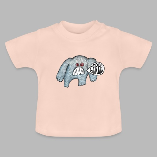 with added GRRRR - Baby T-Shirt