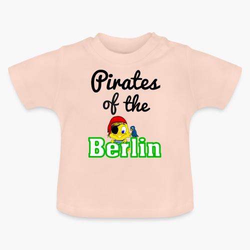 Pirates of the Berlin (schriftzug schwarz) - Baby T-Shirt