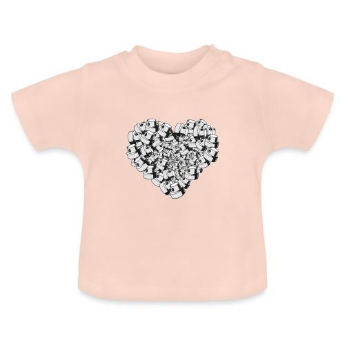 heart for art street love - Baby T-shirt