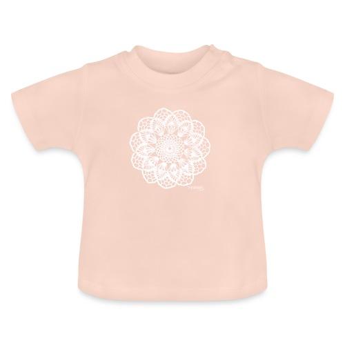 Granny´s Flower, valkoinen - Vauvan t-paita