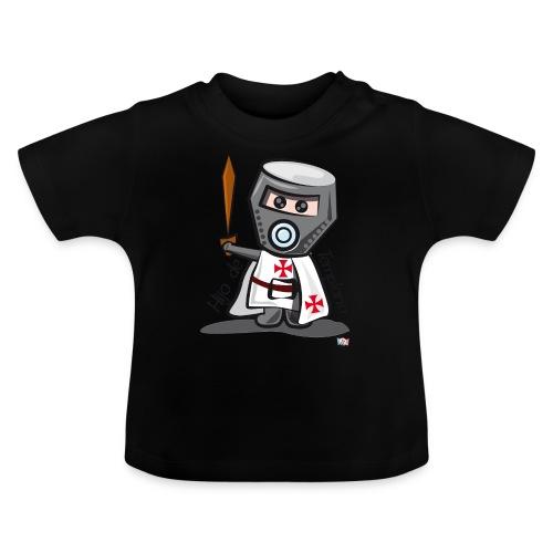 Hijo de templario (Casco) - Camiseta bebé
