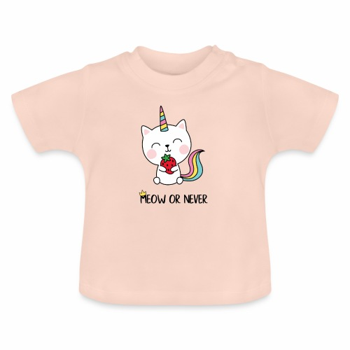 Meow or never - Baby T-Shirt