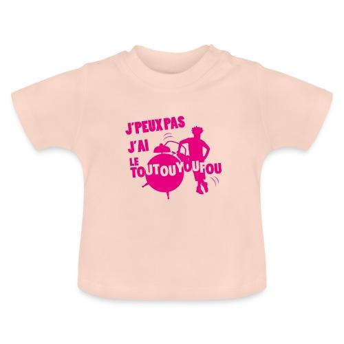 JPEUXPAS ROSE - T-shirt Bébé