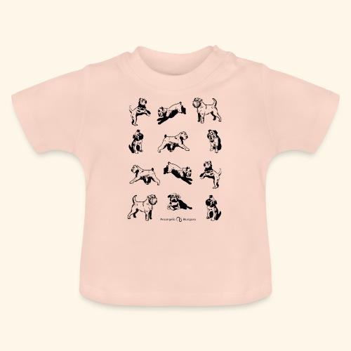 Brussels Griffon pattern - T-shirt Bébé