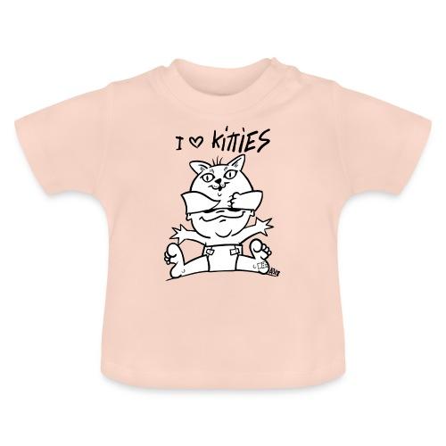 baby i love kitties - Baby T-shirt