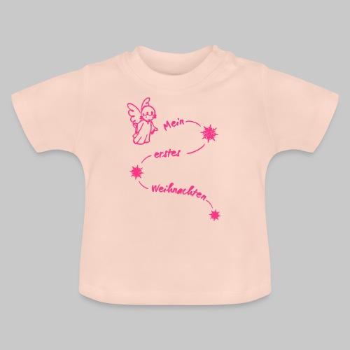 Mein erstes Weihnachten Baby Engel 2reborn - Baby T-Shirt