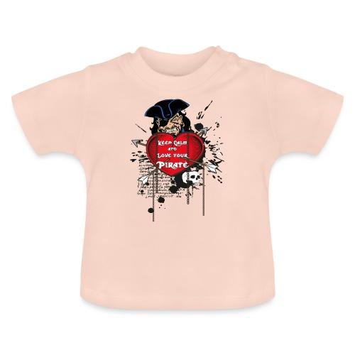 love your pirate - Maglietta per neonato
