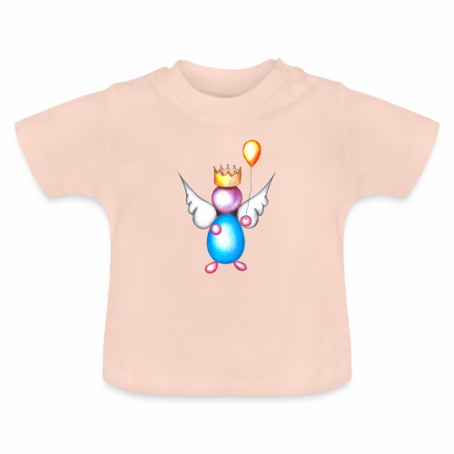 Mettalic Angel geluk - Baby T-shirt