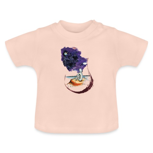 Extraterrestre en contemplation - T-shirt Bébé