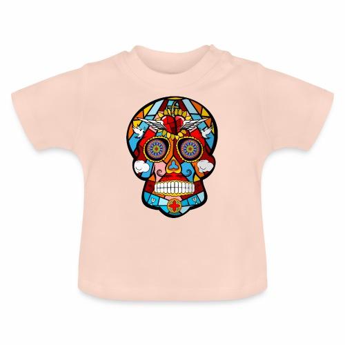calavera mexicana - Camiseta bebé