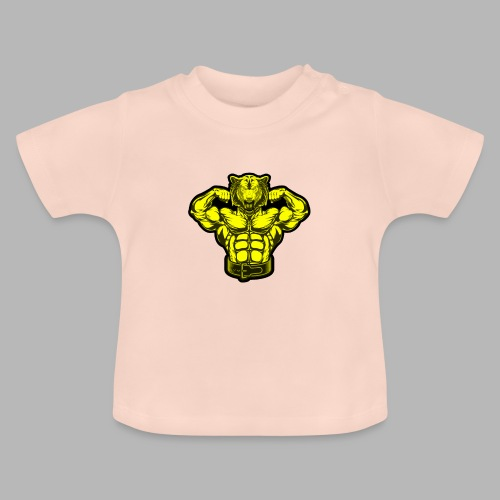Bodybuilder Wolf - Baby T-Shirt