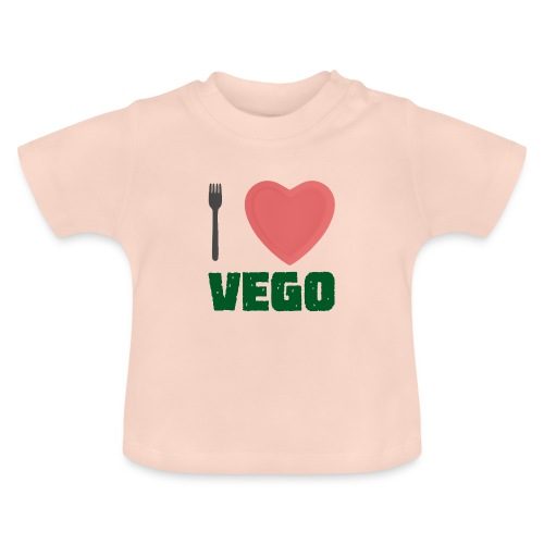 I love Vego - Clothes for vegetarians - Baby T-Shirt