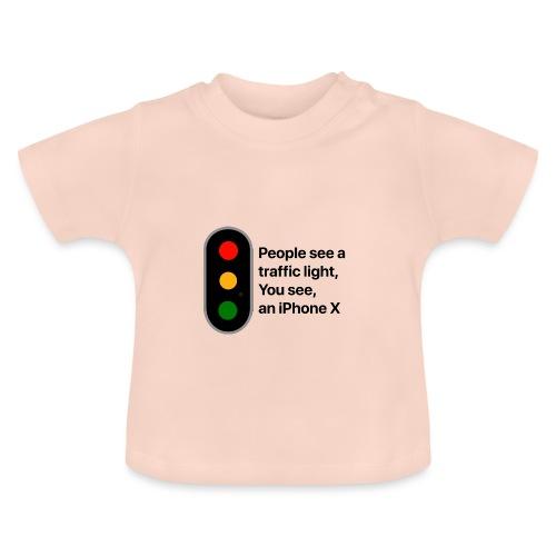 Semaforo? No grazie! - Maglietta per neonato