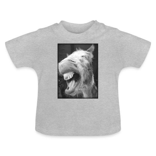lachender Esel - Baby T-Shirt