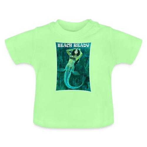 Vintage Pin-up Beach Ready Mermaid - Baby T-Shirt