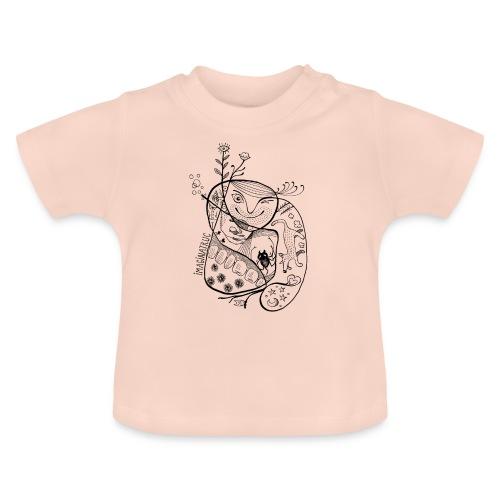 fleurs bulles araignée loup - T-shirt Bébé
