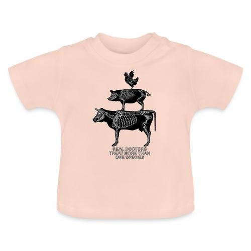 Echte artsen ... grote dieren - Baby T-shirt