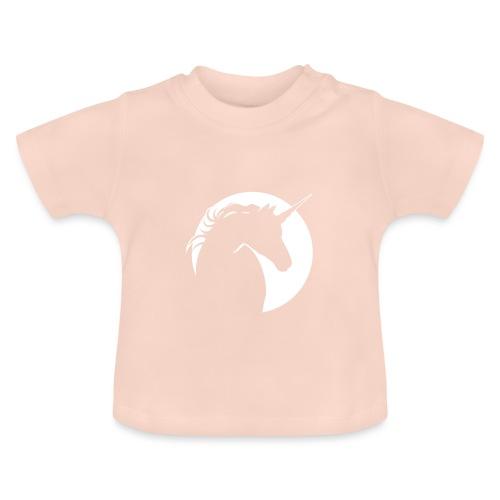 Eenhoorn diapositief - Baby T-shirt