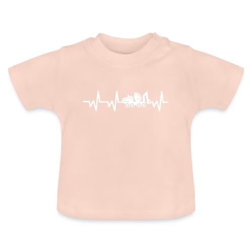 Forst | Herzschlag weiß - Baby T-Shirt