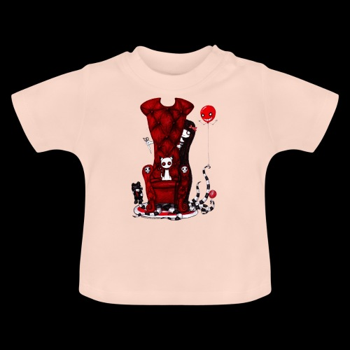 Cruelle petite fille - T-shirt Bébé