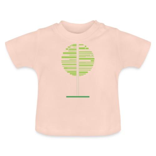 Zielone drzewo - Koszulka niemowlęca