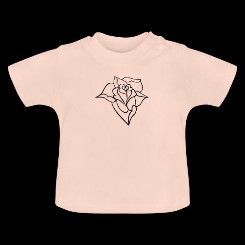 blumen Rose - Baby T-Shirt