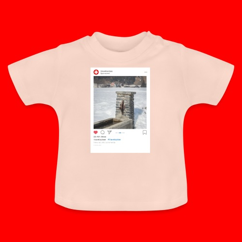 travelsuisse - Brunnen Trin - Baby T-Shirt