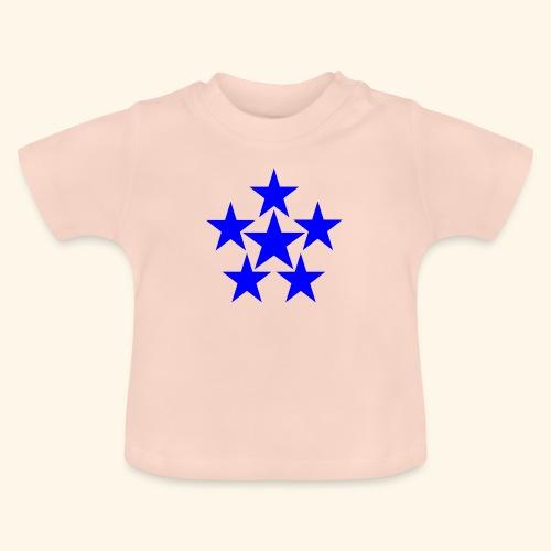 5 STAR blau - Baby T-Shirt