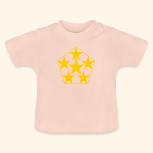 5 STAR gelb - Baby T-Shirt
