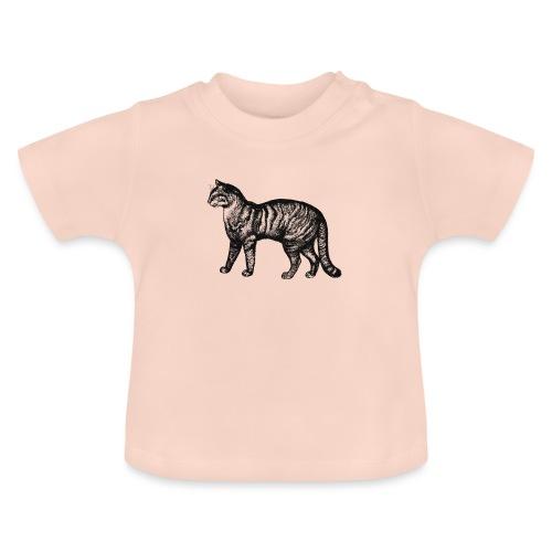 Retro Katze - Baby T-Shirt