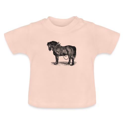 Arbeitspferd - Baby T-Shirt