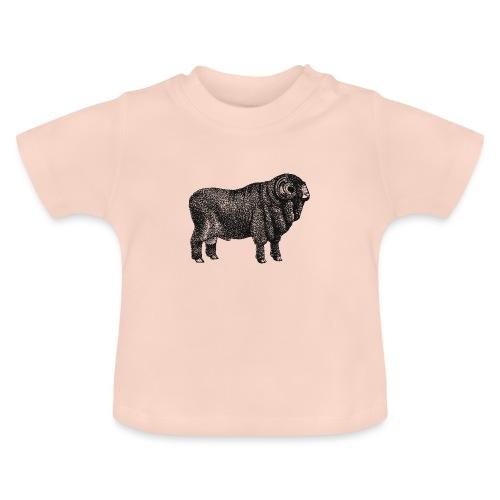Dicker Schafbock - Baby T-Shirt
