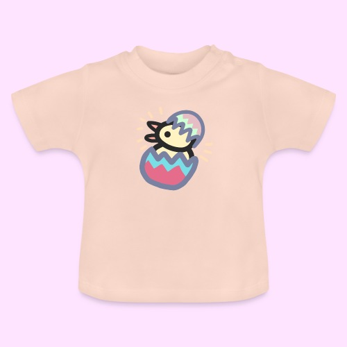 Easter Pinkguin (Yellowguin?) - Baby T-shirt