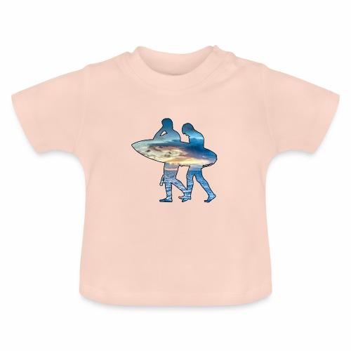 Les surfeurs ! - T-shirt Bébé