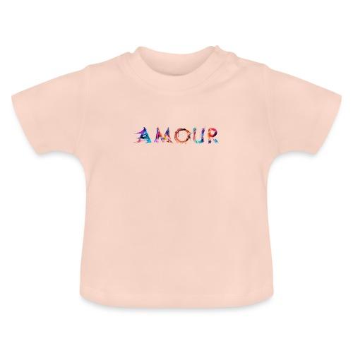 Amour - T-shirt Bébé