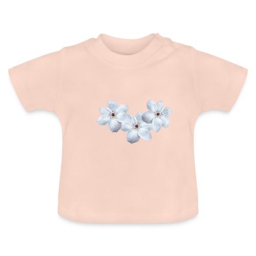 Jalokärhöt, valkoinen - Vauvan t-paita