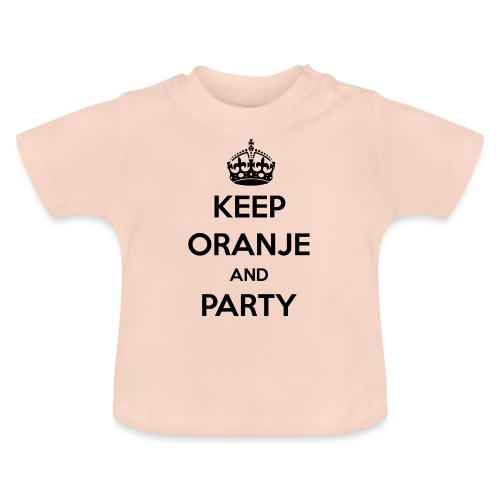 KEEP ORANJE AND PARTY - Baby T-shirt