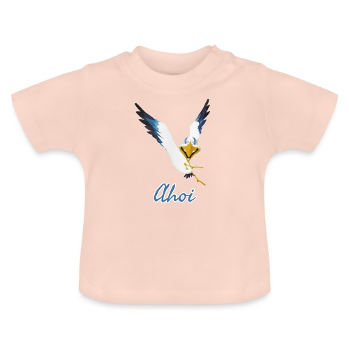 Lachmöwe Ahoi - Baby T-Shirt
